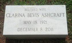Clarina <i>Bevis</i> Ashcraft