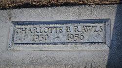 Charlotte B Rawls