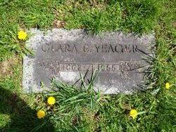 Clara E <i>Barnes</i> Yeager