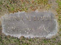 Virginia Magdella <i>LaRocque</i> Lemieux