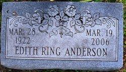 Edith <i>Ring</i> Anderson