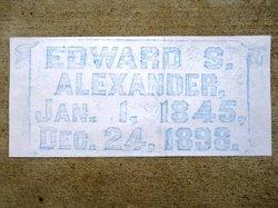 Edward Sime Alexander
