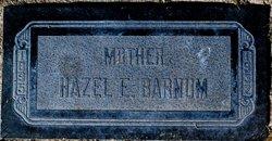 Hazel E Barnum