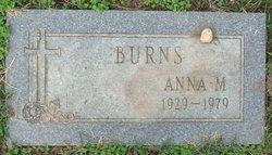 Anna M. Burns