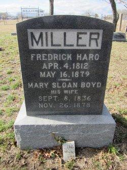 Mary Sloan <i>Boyd</i> Miller