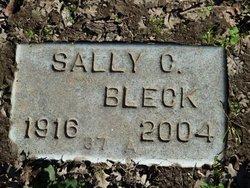 Sally C Bleck