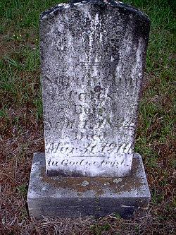 Sarah Ann <i>Rigsby</i> Cates