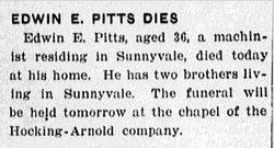 Edwin E Pitts