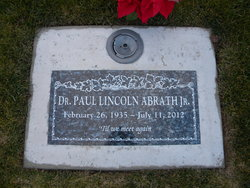 Dr Paul Lincoln Abrath, Jr