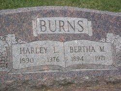Bertha M. <i>Pace</i> Burns