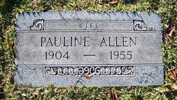 Pauline Mae <i>Hunley</i> Allen