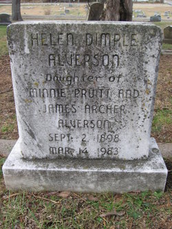 Helen Dimple Alverson