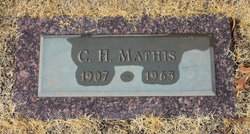 Clarence Homer Mathis