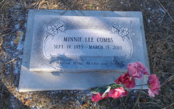 Minnie Lee Combs