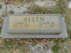 Claudie W Allen