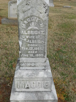 Margaret D <i>Hunter</i> Albright
