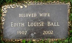 Edith Louise <i>McHoes</i> Ball