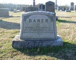 Maggie <i>Etheridge</i> Baker