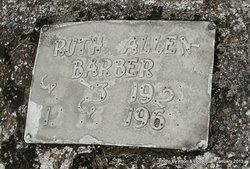 Ruth <i>Allen</i> Barber