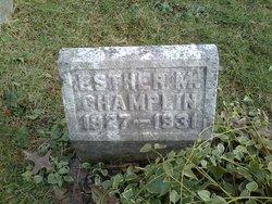 Esther M. Champlin
