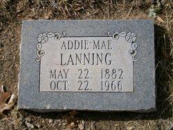 Mrs. Addie Mae Lanning
