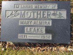 Mary Almira Birdie <i>Rowe</i> Leake