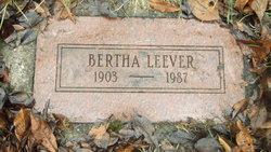 Bertha Brundege Hedges Leever