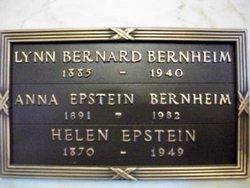 Anna <i>Epstein</i> Bernheim