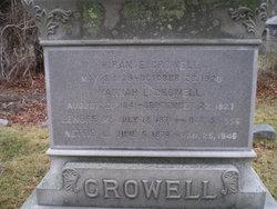 Hannah L. <i>Swift</i> Crowell