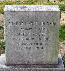 Anne Faulkner Johnson
