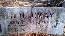 Blanche <i>Hunley</i> Holloway