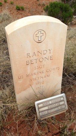 Sgt Randy Betone