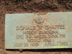 Col Donald Roberts Chaffee