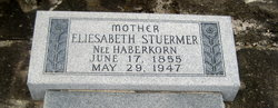 Elizabeth <i>Haberkorn</i> Stuermer