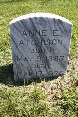 Anne E Atchison