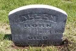 Mary H <i>Atchison</i> Allen