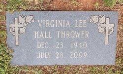 Virginia Lee <i>Hall</i> Thrower