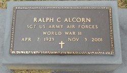 Sgt Ralph C. Alcorn