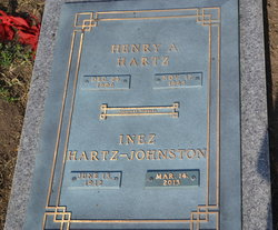 Inez <i>Hartz</i> Johnston