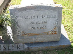 Elizabeth Frances <i>Pastusek</i> Hausler