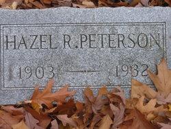 Hazel R Peterson