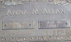 Anna M Allan