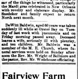 Dewitt Baldwin