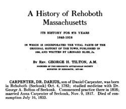 Dr Darius Carpenter