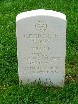 George H Gibbs