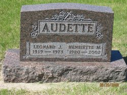 Henriette Mary <i>Amiot</i> Audette