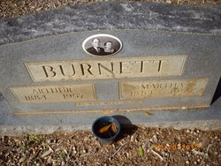 Martha Ora J. <i>Daniel</i> Burnett