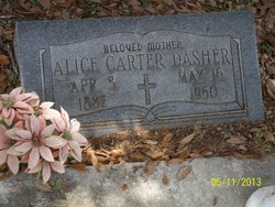 Alice <i>Carter</i> Dasher