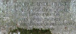 Lieut George Hyde Clarke, Jr