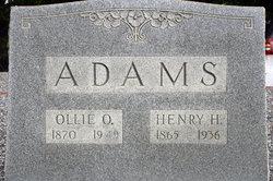 Ollie Ola <i>Moore</i> Adams